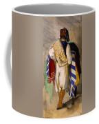 Turkish Carpet Seller, 1841 Coffee Mug