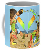 Turn Peace Around 2 Coffee Mug by Charlie and Norma Brock