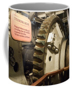 Turning Gear Engine Room Queen Mary 02 Coffee Mug