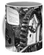 Turning Gear Engine Room Queen Mary Bw Coffee Mug