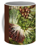 Turnip And Chard Concerto Coffee Mug by Jen Norton