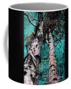 Turquois Trees  Coffee Mug