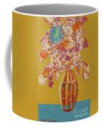 Turquoise Flower Coffee Mug
