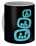 Turquoise Pods Coffee Mug