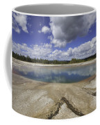 Turquoise Pool In Yellowstone National Park Coffee Mug