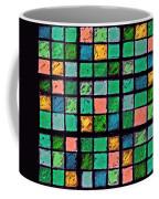 Turquoise Sudoku Coffee Mug