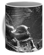Turtle Bw Coffee Mug by Nelson Watkins