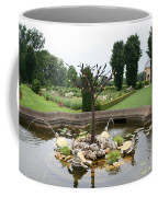 Turtle Fountian And Garden Chateau De Cormatin Coffee Mug