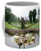 Turtle Fountian And Garden Chateau De Cormatin Coffee Mug