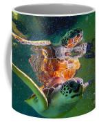 Turtle Reflection Coffee Mug