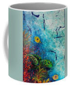 Turtle Wall 1 Coffee Mug by Ashley Kujan