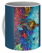 Turtle Wall 2 Coffee Mug by Ashley Kujan
