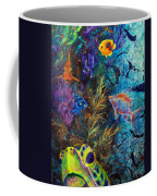 Turtle Wall 3 Coffee Mug by Ashley Kujan