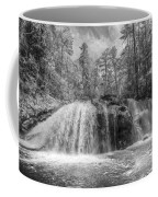 Turtletown Creek In Black And White Coffee Mug
