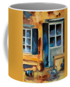 Tuscan Courtyard Coffee Mug by Elise Palmigiani