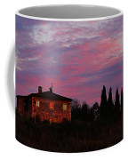 Tuscan Farmhouse And Morning Glow Coffee Mug