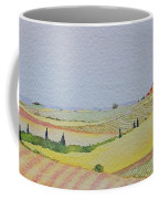 Tuscan Hillside Three Coffee Mug