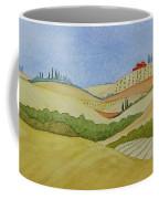Tuscan Hillside Two Coffee Mug
