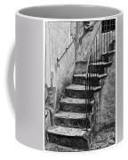 Tuscan Staircase Bw Coffee Mug