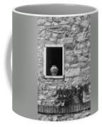 Tuscan Window And Pot Coffee Mug