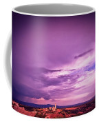 Tuscania Village With Approaching Storm  Italy Coffee Mug