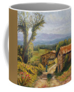 Tuscany Farm Road Coffee Mug