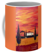 Tuscany In Red Coffee Mug