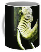 Tusk 1 - Dramatic Elephant Head Shot Art Coffee Mug
