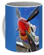 Tuskegee Airmen Fighter Plane Coffee Mug