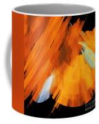 Tutu Stage Left Abstract Orange Coffee Mug