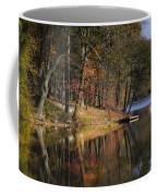 Tuxedo Lake Autumn Coffee Mug