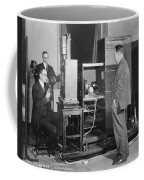 Tv Demonstration At Bell Labs Coffee Mug