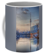 Tv Tower Sunset Coffee Mug