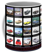 Twenty Corvettes Coffee Mug