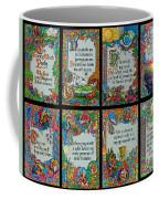 Twenty Third Psalm Collage 2 Coffee Mug