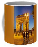 Twilight At Arc De Triomphe Coffee Mug
