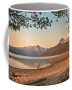 Twilight At Redfish Lake  Coffee Mug