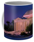 Twilight At The Jefferson Memorial Coffee Mug