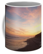 Twilight Near Pier Coffee Mug