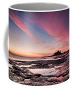 Twilight On Harkness Rocks Bamburgh Coffee Mug