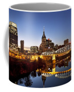 Twilight Over Nashville Tennessee Coffee Mug