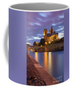 Twilight Over Notre Dame Coffee Mug