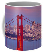 Twilight Over San Francisco Coffee Mug