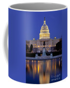 Twilight Over Us Capitol Coffee Mug