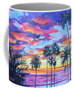 Twilight Palms Coffee Mug