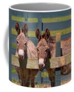 Twin Donkeys Coffee Mug