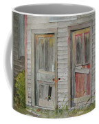 Twin Doors In Watercol Coffee Mug