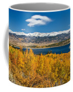 Twin Lakes Colorado Autumn Snow Dusted Mountains Coffee Mug by James BO  Insogna