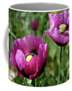 Twin Poppies Coffee Mug