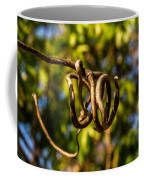 Twirling Vine Tendril Coffee Mug